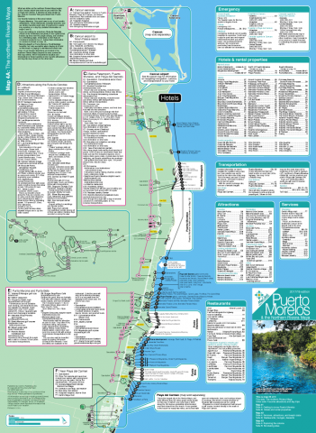 Map of the Riviera Maya