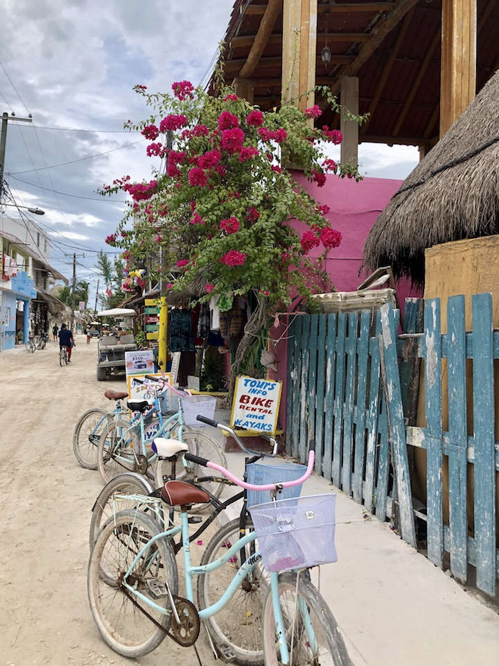 Holbox streets