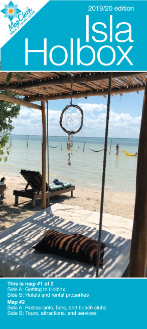Holbox map & travel guide