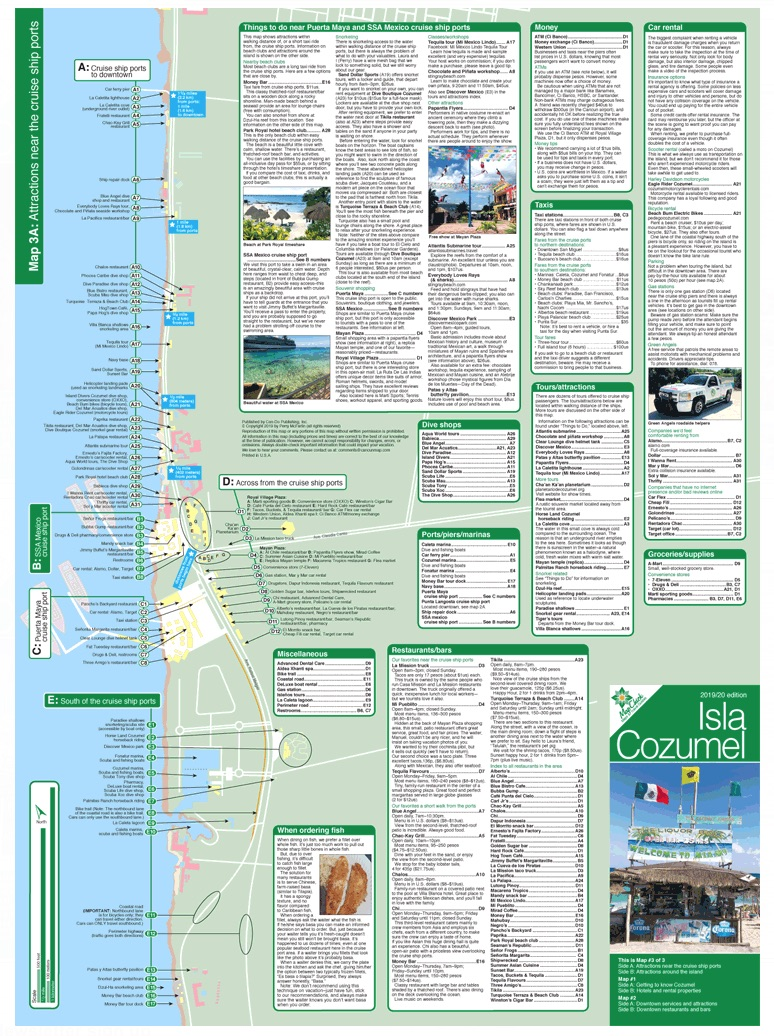 Cozumel Map & Travel Guide - Map Maps & Travel Guides on map of key west cruise ports, map of miami cruise lines, map of quintana roo mexico, map of mexico states, map of us cruise ports, map of brazil ports, carnival cruise ports, map of california and mexico, map of north america and mexico, map of cruise ship docks, map of galveston cruise terminal, map of mexico coastline, map of pyramids in mexico, cozumel street map with ports, mexico cargo ports, map of mexican ports, map of mexico resorts, ship at cozumel map of ports, map of carnival ports in mexico, map to cozumel,
